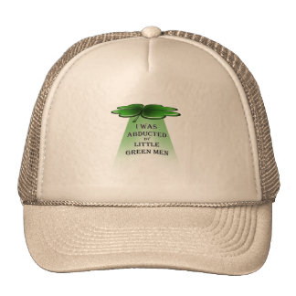 St. Patrick's Day abduction Mesh Hat