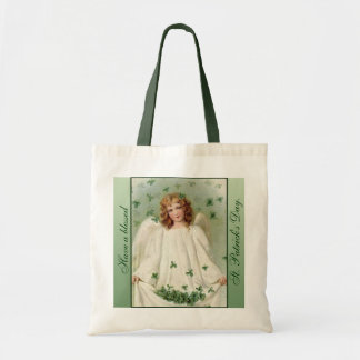 St. Patrick's Day Angel Tote Bag