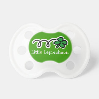 St Patrick's Day baby pacifier / soother dummie