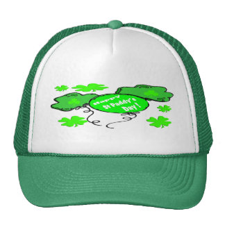 St Patrick's Day Balloons Cap