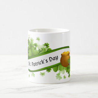 St. Patrick's Day Basic White Mug