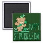 St. Patrick's Day Bear Magnet