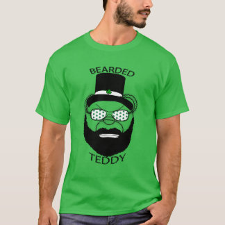 St. Patrick's Day Bearded Teddy T-Shirt