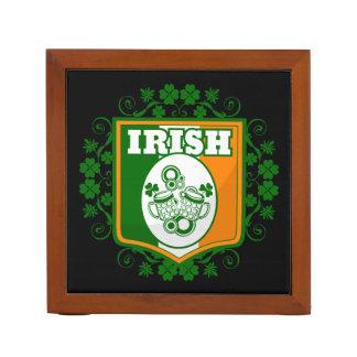 St Patrick's Day Beer Desk Organiser