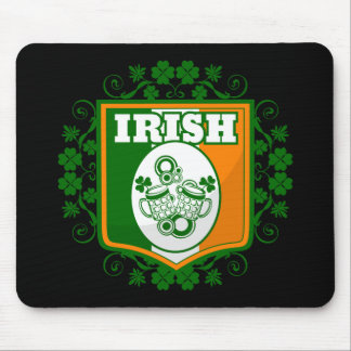 St Patrick's Day Beer Mouse Pad