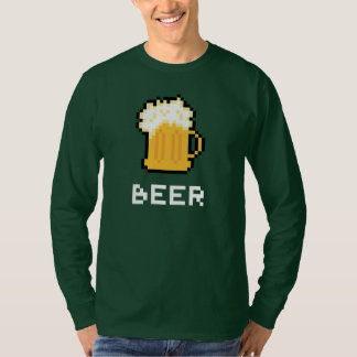 St. Patrick's Day Beer Pixel Icon T-shirt