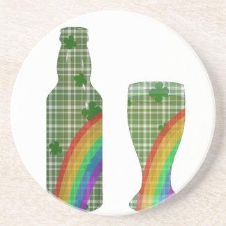 St. Patricks day Beverage Coaster