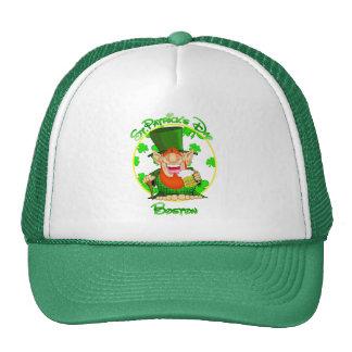 St Patrick's Day Boston Trucker Hat