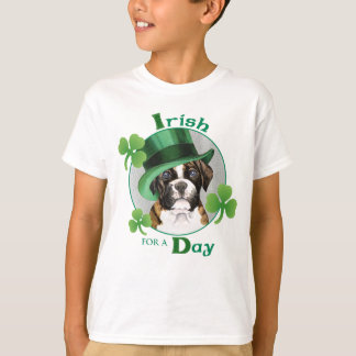 St. Patrick's Day Boxer T-Shirt