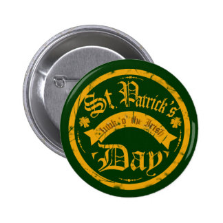 St Patrick's Day Button