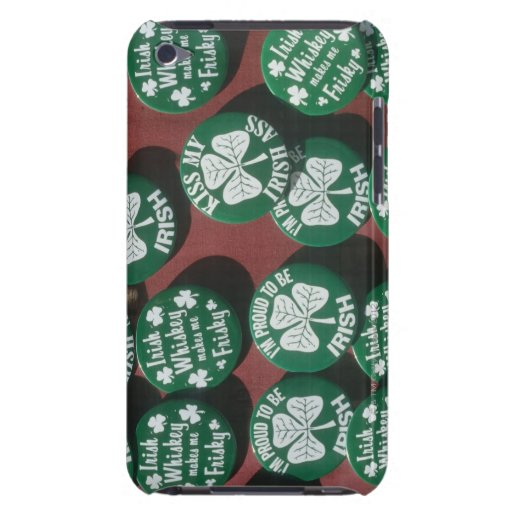 St. Patrick's Day buttons displaying Irish pride iPod Case-Mate Case