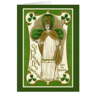 St. Patrick's Day Card w/prayer and verse inside