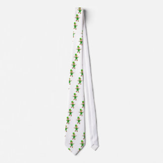 St Patricks Day Cartoon Leprechaun Tie
