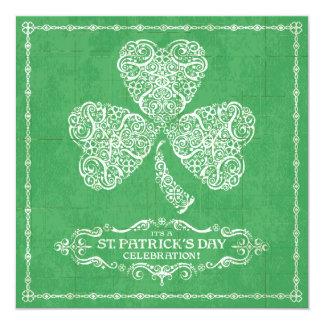 St. Patrick's Day Celebration Invitation