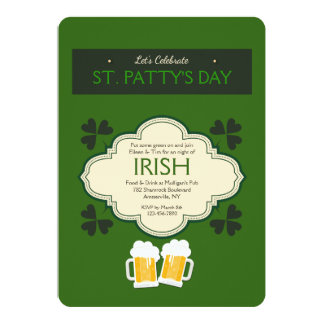 St. Patrick's Day Celebration Invitation