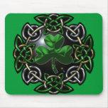St. Patrick's Day Celtic Knot Mousemat
