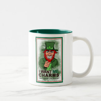St. Patrick's Day Charm Coffee Cup