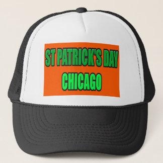 ST PATRICK'S DAY CHICAGO TRUCKER HAT