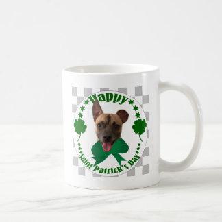 ST. PATRICK'S DAY CHIHUAHUA COFFEE MUG