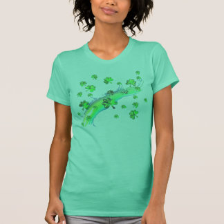 St. Patrick's Day Clover Design T-Shirt