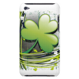 St Patrick's Day Clover iPod Touch Case