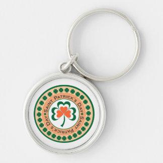 St. Patrick's Day Clover Keychain