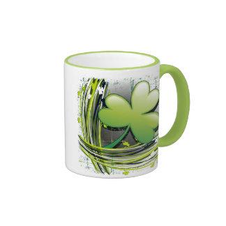 St Patrick's Day Clover Mug