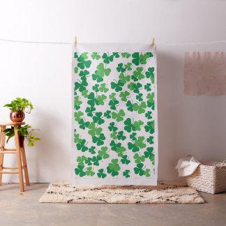 St. Patricks day clover pattern Fabric