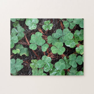St Patrick's Day Clover Puzzle