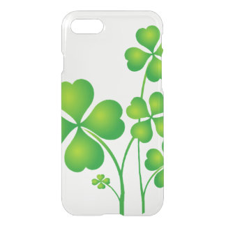 St. Patrick's Day Clover / Shamrocks + your ideas iPhone 7 Case
