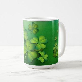 St Patrick's Day - Clovers/Shamrocks Coffee Mug
