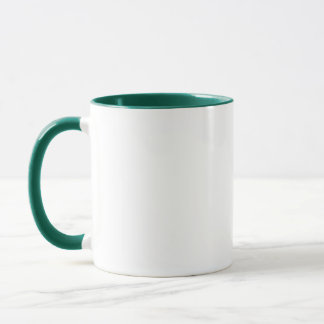 St Patricks day Coffee Mug Baby elephant