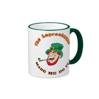 St Patricks day Coffee Mug Funny Leprechaun