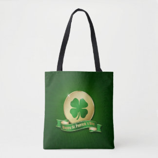 St. Patrick's Day Coin - All-Over-Print Tote Bag