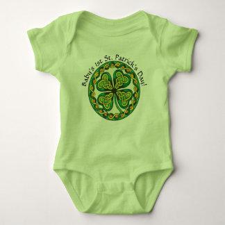 St. Patrick's Day Custom Baby Bodysuit