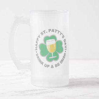 St. Patrick's Day custom monogram mugs