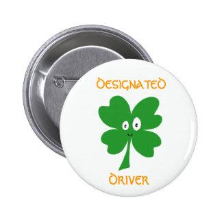 St. Patrick's Day Designated Driver Button