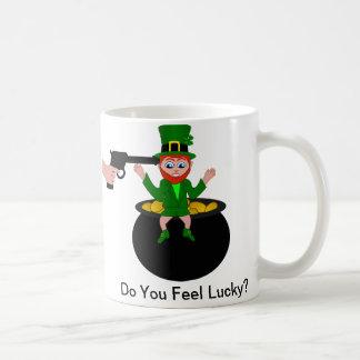 St Patrick's Day Do You Feel Lucky Standard Mug