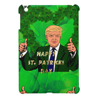 st patricks day donald trump iPad mini cover