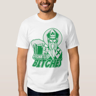 St. Patrick's Day 'Drink Up Bitches' T-shirt