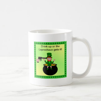 St Patrick's Day Drink Up Standard Mug