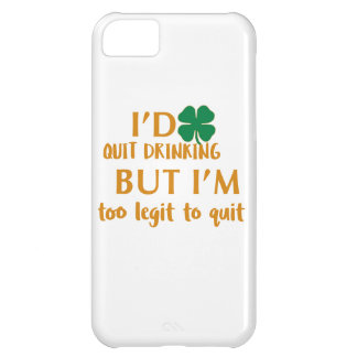 St Patrick's day drinking design iPhone 5C Case