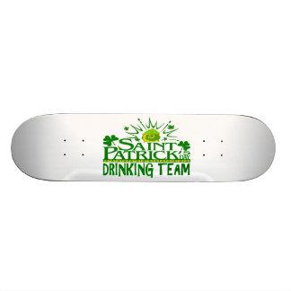 St Patricks Day Drinking Team Irish Celebrations Skateboard Decks