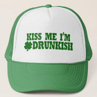 St Patricks Day Drunkish Trucker Hat