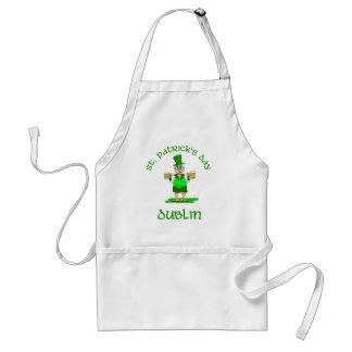 St Patricks Day ~ Dublin Standard Apron