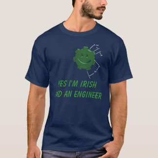 St. Patricks Day, Engineering Gear, T-shirt