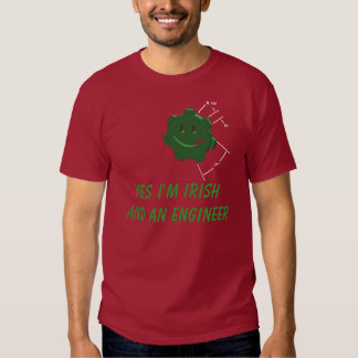 St. Patricks Day, Engineering Gear...T-shirt T-shirt
