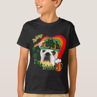 St. Patrick's Day English Bulldog T-Shirt