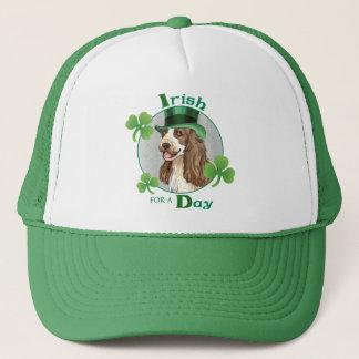 St. Patrick's Day English Cocker Trucker Hat