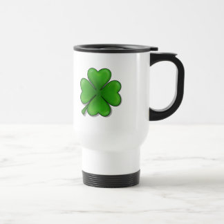 St. Patrick's Day, Four Leaf Clover Coffee Mugs